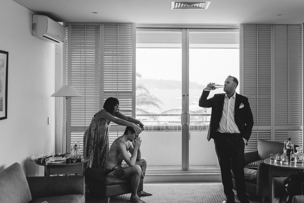 Watsons Bay Hotel Sydney Wet Weather Wedding Inbal Dror-10004