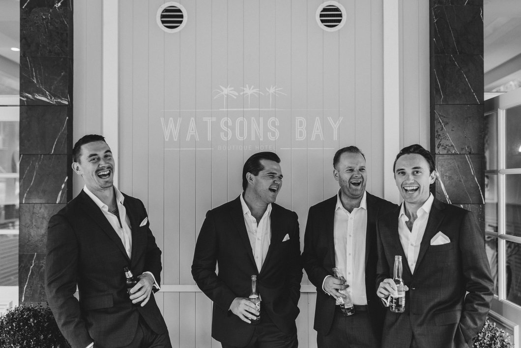 Watsons Bay Hotel Sydney Wet Weather Wedding Inbal Dror-10010