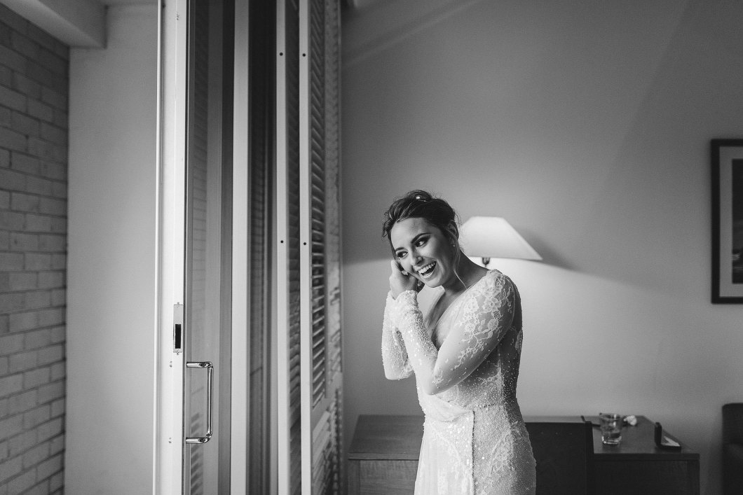 Watsons Bay Hotel Sydney Wet Weather Wedding Inbal Dror-10032