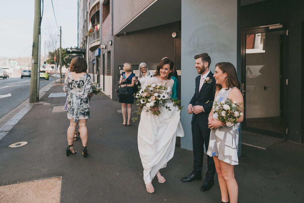 Creative Chippendale Rue De Seine Sydney Registry Wedding-10092