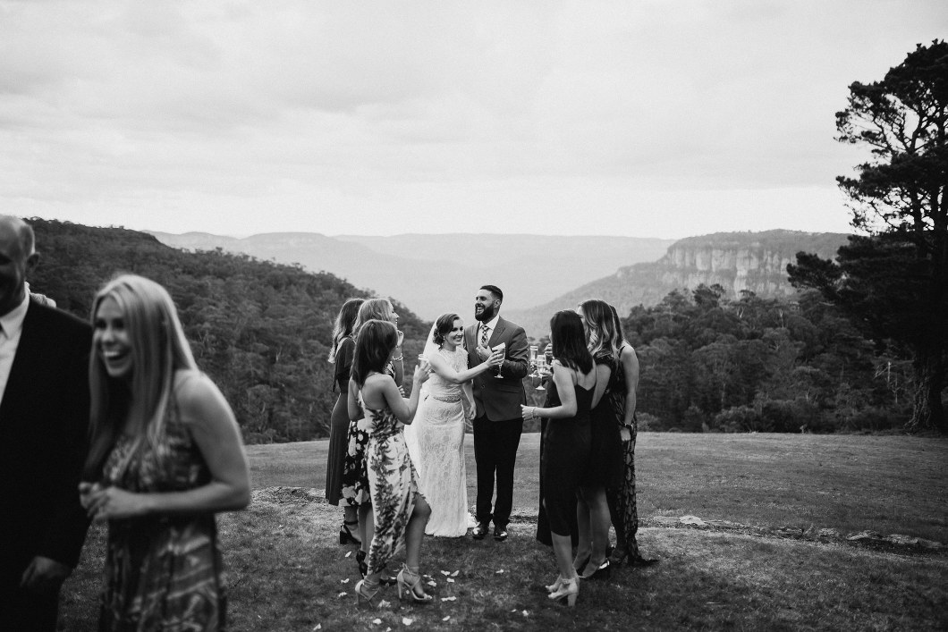 Yester Grange wedding Blue Mountains candid photography